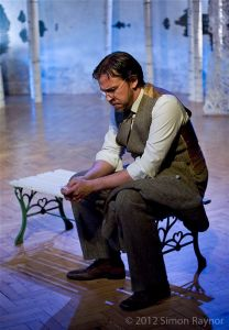 As Medvedenko in The Seagull